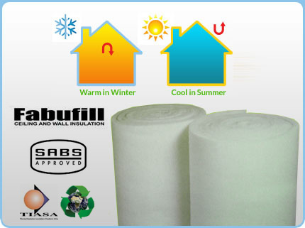 Roof and ceiling insulation in JHB and PTA with Fibrotherm